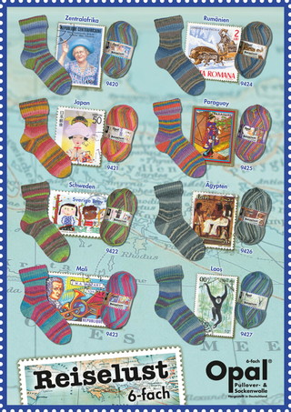 Reiselust/世界の切手