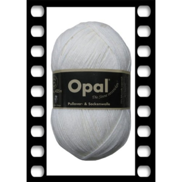 画像1: Opal 単色ユニカラー 2620 白 (1)