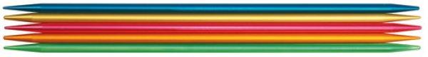 画像1: addi 超軽量ダブルポイント5本針「colibri」20cm (1)
