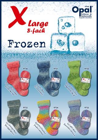 XL Frozen 8ply/フローズン (8本撚り)